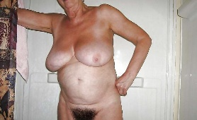 Horny Naked Old Lady