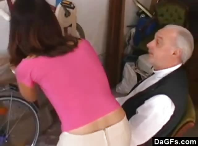 Old Pervert Wants Teen Pussy for Dinner