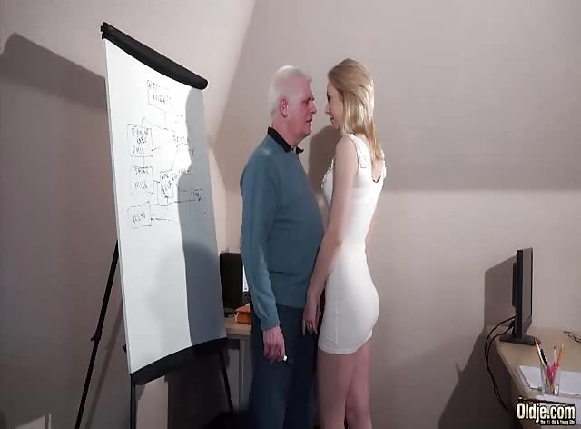 Gorgeous Blonde at Interview