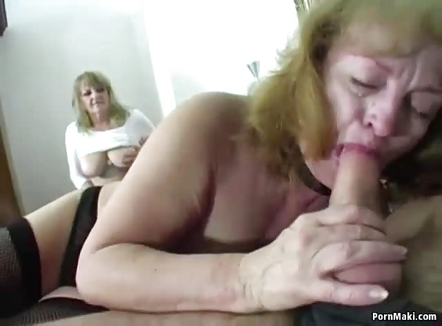 Fucking Two Horny Grannies At The Same Time