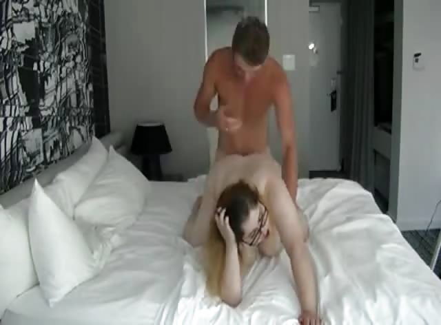 BBW Teen Gets Creampied