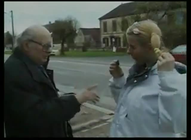 Old Man Shares Some Candy With Teen Girl