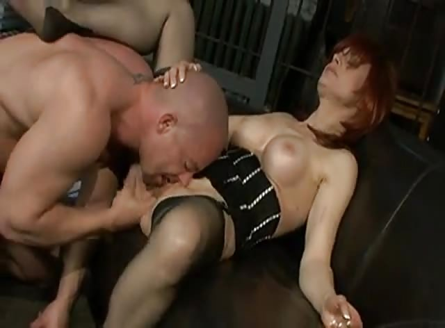 Redhead Milf Fucked in the Prison