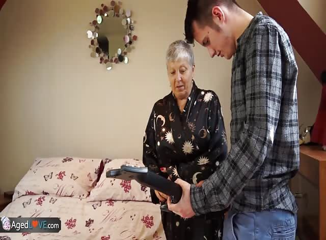 Dirty Granny Takes Advantage of College Musician