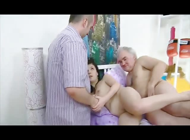Old Friends Enjoy Banging Fresh Teen Cunt