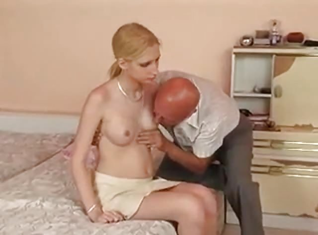 Filthy Bald Uncle Takes Advantage on Naive Teen Girl