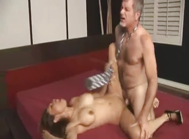 Tight Teen Pussy for Lucky Old Man