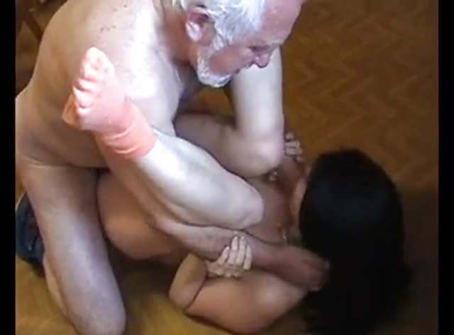 Old Man Forced and Brutally Fucked Younger Woman