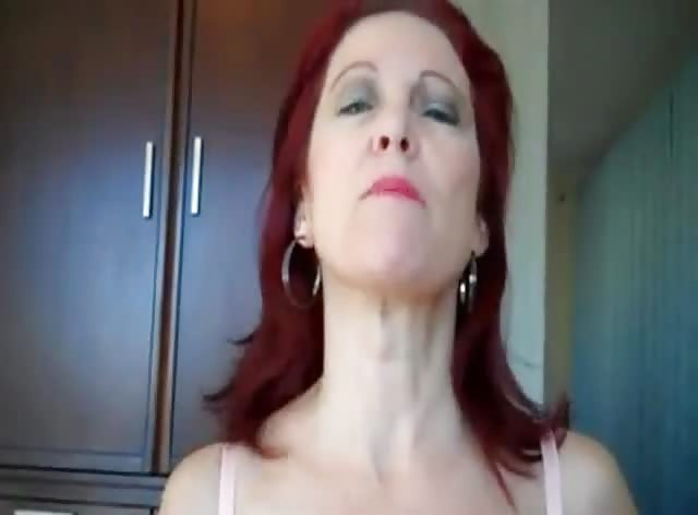 Redhead Mom Caught Her Stepson Spying on Her
