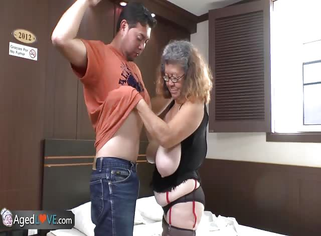 Granny Bitch Addicted To Teen Cock
