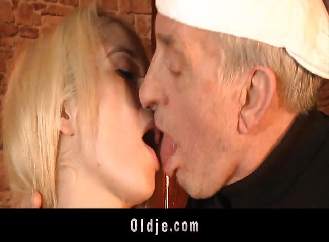 Fucking Two Old Cocks in a Bar
