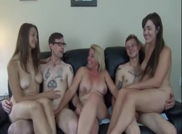 Mature Slut Fucking Two College Couples