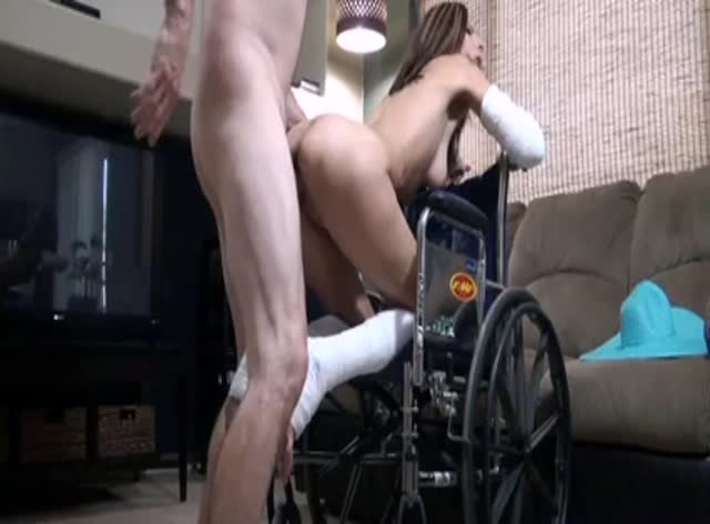 Milf in Wheelchair Banged