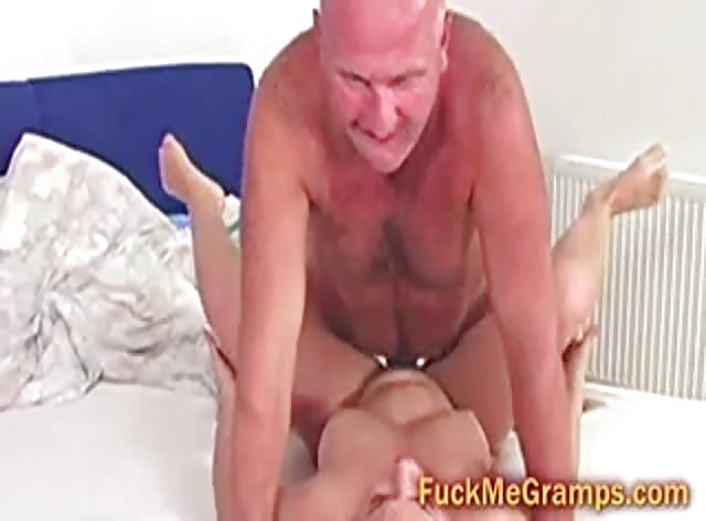 Grandpa Fucks College Chick