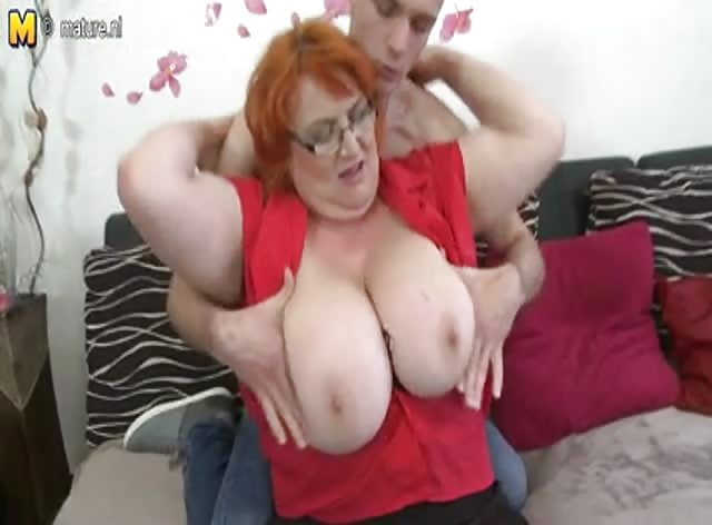 Busty Mature Mom Banged