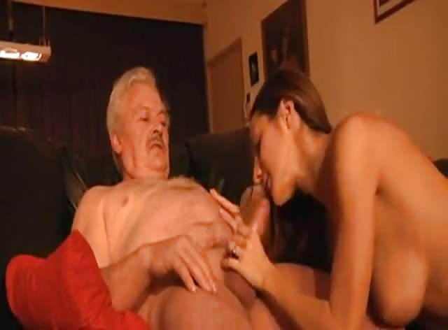 Old Man Bangs Perfect Teen Babe