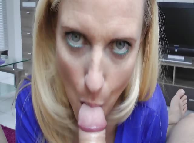 My First Time MILF Blowjob