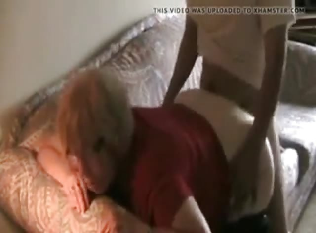 Granny Takes Care of Her Grandson's Friend