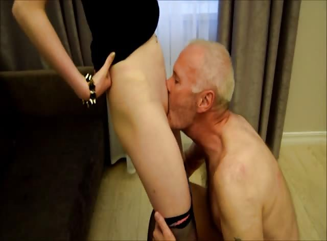 Ulf Larsen caught wanking & punished