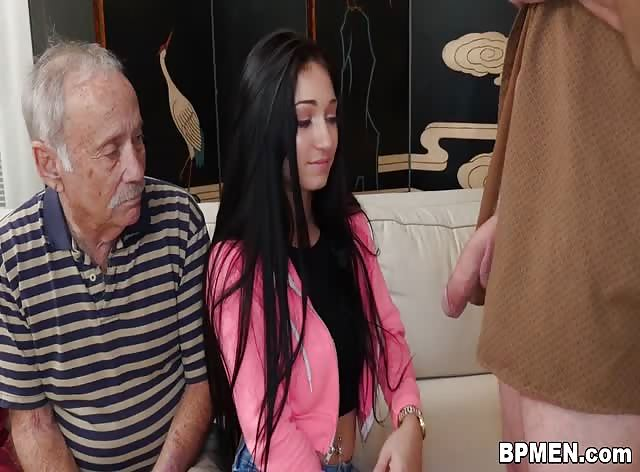 Crystal Rae Fucks The Hell Out Of Old Man